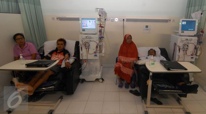 Layanan Cuci Darah untuk Peserta BPJS Tak Sesuai Standar