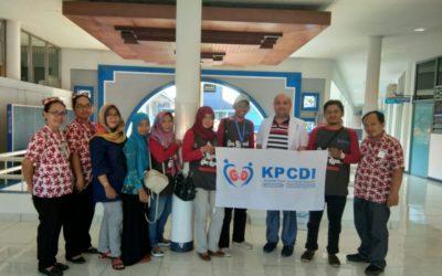Saling Menguatkan dan Berbagi Pengalaman, KPCDI Cabang Banyumas Melakukan Kunjungan Sosial